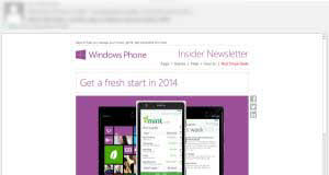 WIndows Phone Email